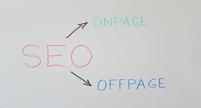 perbedaan seo onpage dan seo offpage
