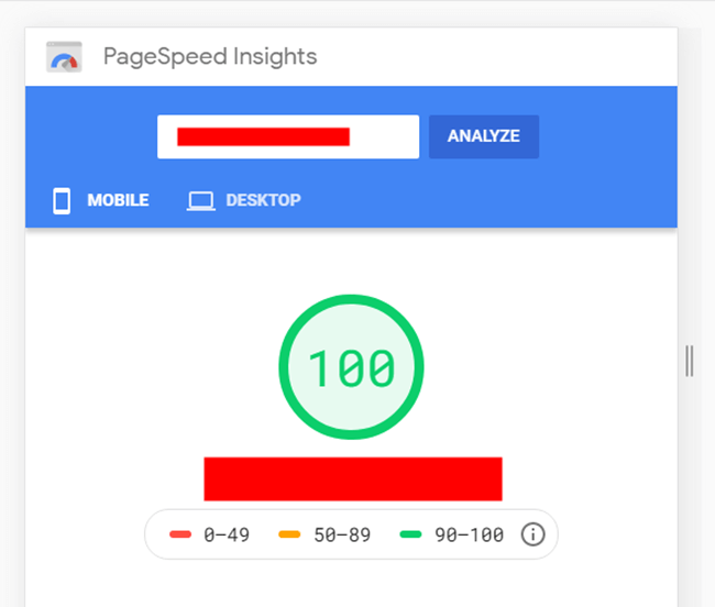 pagespeed insight mobile seo