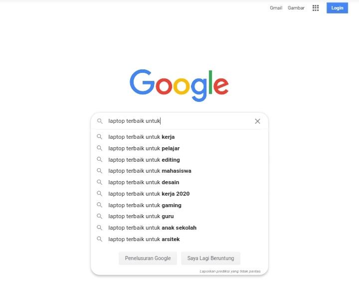 riset golden keyword ratio di google suggest